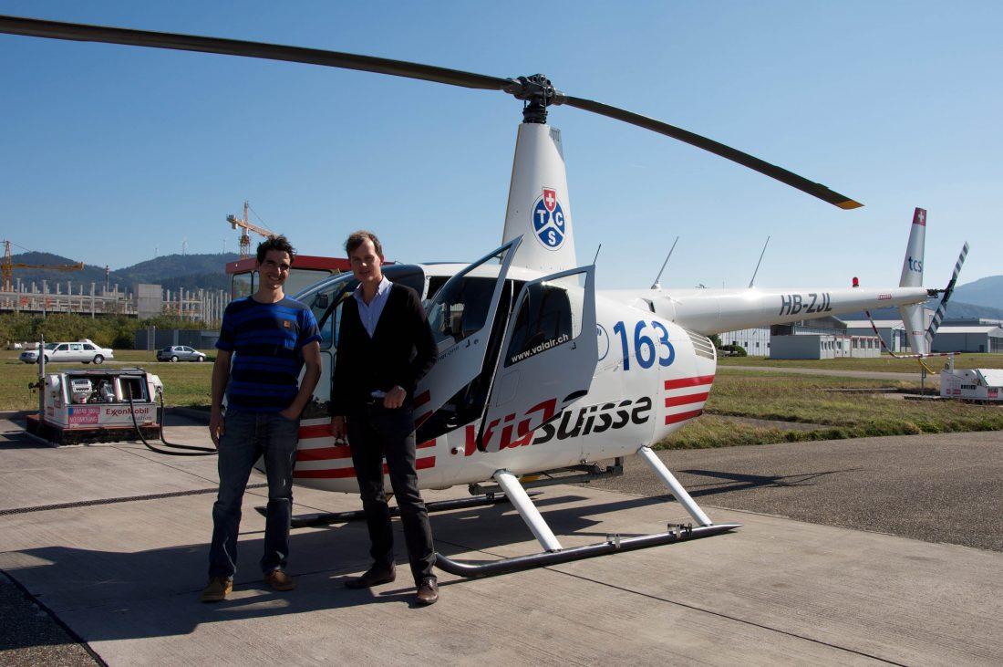 SWR-Schwarzwaldgeschichten kleiner Hubschrauber